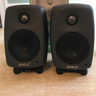 "Genelec 6010A 3"" Powered Nearfield Studio Monitor (Pair)"