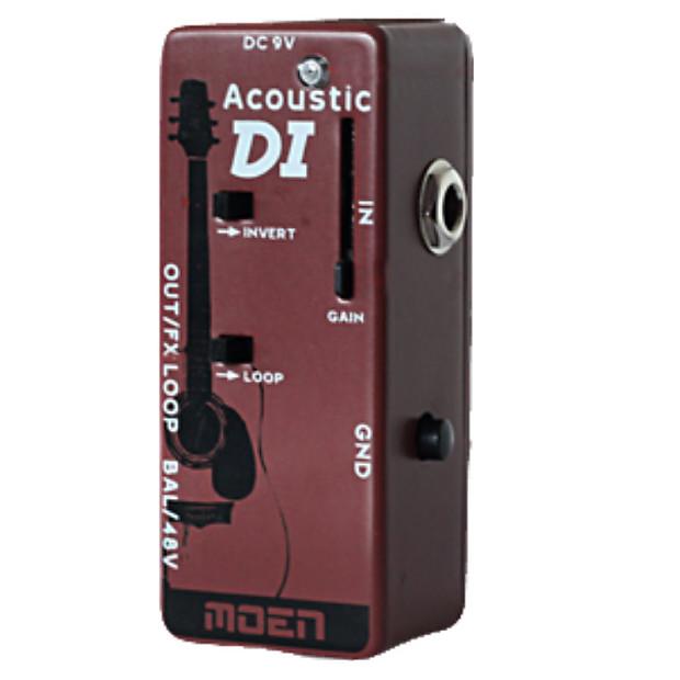 Moen mi ac di acoustic guitar direct box with volume for 2 aggiunta di box auto