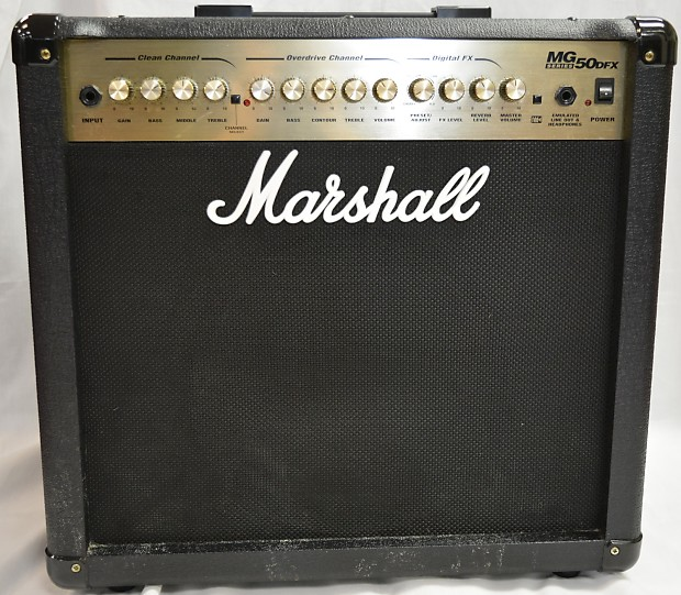 Super Marshall MG50 DFX | Reverb HH-89