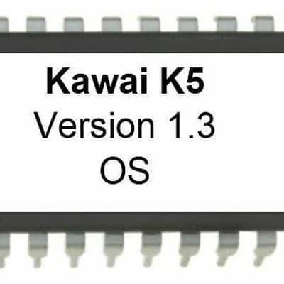 Kawai K5 OS version 1.3 EPROM Firmware Upgrade KIT / New ROM Final Update Chip