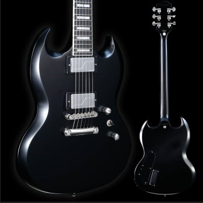 Epiphone SG Prophecy, Black Aged Gloss 453 7lbs 13.2oz for sale