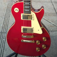 <p>Castilla Kopy Kat Les Paul Japanese Lawsuit 1975 Red</p>  for sale