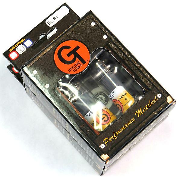 Groove Tubes Gtel84s6 Power Quartet El84 Guitar Amplifier