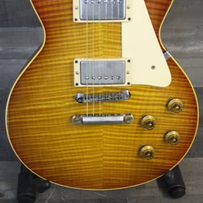 gibson les paul 1959 flametop reissue lp59 lpr9 prefix electric guitars for sale in the usa. Black Bedroom Furniture Sets. Home Design Ideas