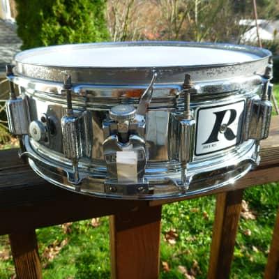 "Rogers ""Big R"" SuperTen 5x14"" 10-Lug Chrome Over Steel Snare Drum 1975 - 1984"