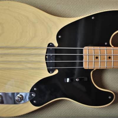 1992 ~'51 Precision Bass~ Fender Custom Shop.  NOS 1992. Black Guard Blonde. John Page Era. for sale