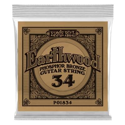 Ernie Ball 1834 Earthwood Phospor Bronze .034