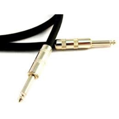 30' 14 Gauge 2 Conductor Black PVC Round Jacket Speaker Cable