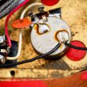 1966 Gibson Firebird V Non-Reverse Vintage Electric Guitar Ember Red, 100% Original w/ Case