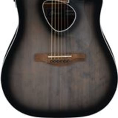 Ibanez Altstar ALT30 Acoustic Electric Guitar Trans Charcoal Burst