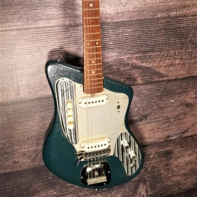 Zenon  ZES-170 Mid-1960s Green Sparkle Ze-Non Made In Japan for sale