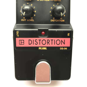 Pearl DS-06, Distortion, Made In Japan, 1980's, Vintage Guitar Effect Pedal for sale