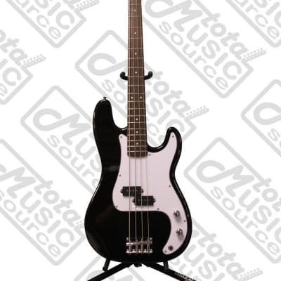 Oscar Schmidt by Washburn P-Style Electric Bass, Trans Black, OSB-400C TBK for sale