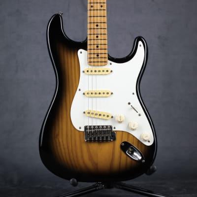 Chandler San Francisco Stratocaster Reissue 57 1999 2 tone sunburst for sale