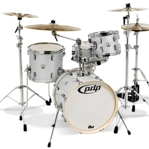 """PDP PDNY1804DS New Yorker 10"""" / 13"""" / 18"""" w/ 6x13"""" Snare 4pc Kit"""