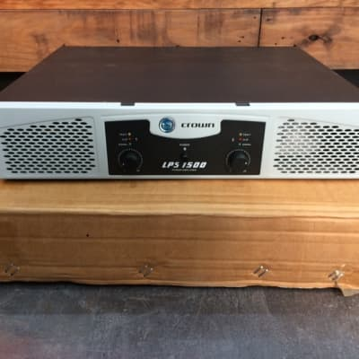 Crown LPS 1500 for sale