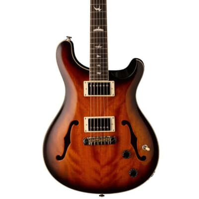 PRS SE Hollowbody Standard McCarty Electric Guitar 2020 - Tobacco Sunburst