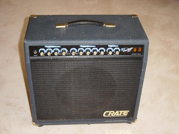 crate blue voodoo bv 60 tube guitar amp reverb. Black Bedroom Furniture Sets. Home Design Ideas