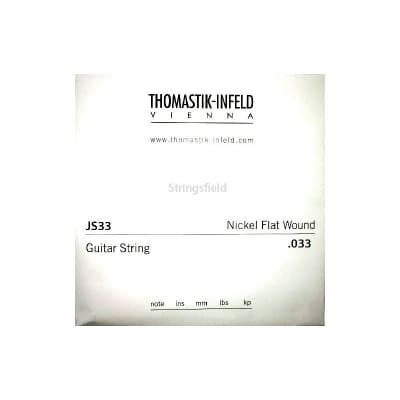Thomastik Infeld JS33 Nickel Flatwound 033 Single String 033