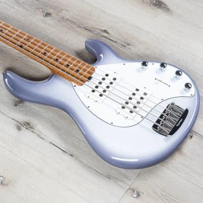Ernie Ball Music Man StingRay 5 Special 5-String Bass, Roast Maple, Snowy Night