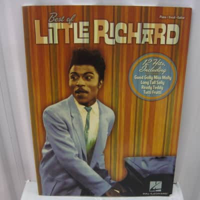 Best of Little Richard Piano Vocal Guitar Sheet Music Song Book Songbook