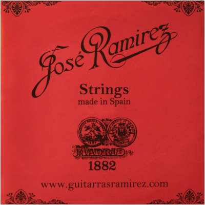 Genuine Jose Ramirez Traditional Hard Tension Classical Guitar Strings - JRH