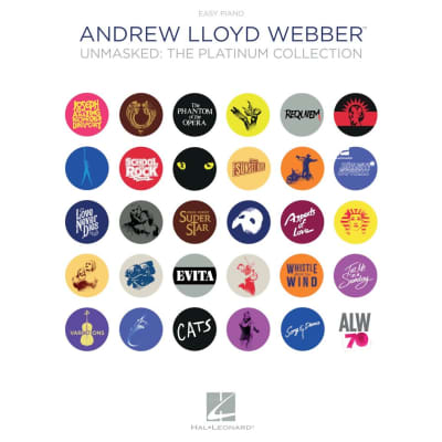 Andrew Lloyd Webber – Unmasked: The Platinum Collection (Easy Piano)