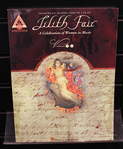 Lilith Fair - Volumes 2 and 3 Guitar Recorded Versions Songbook