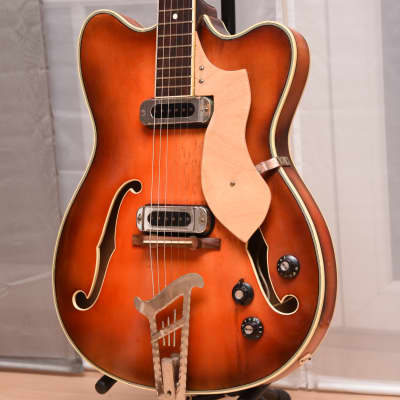 Migma Thinline – 1960s GDR German Vintage Jazz Guitar Musima Gitarre for sale