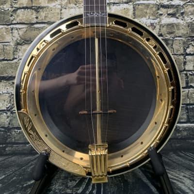 Used Samick Artist Series Edition 5 String Banjo w/ Hardshell Case for sale