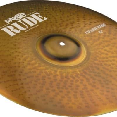 "Paiste 19"" RUDE Crash/Ride Cymbal"
