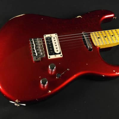 Fender Custom Shop Limited Edition H/S Stratocaster Relic - Aged Candy Apple Red (413) for sale