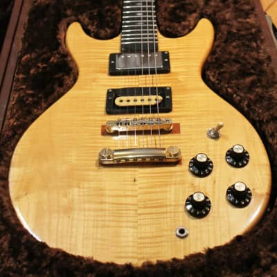 MIJ Fujigen Doublecut 1970s lefty friendly  / Yamaha Super Axe PAF / 80s Dimarzio SD for sale