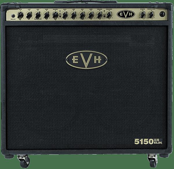 new evh 5150iii 50w 50 watt el34 2x12 combo 2019 black gold reverb. Black Bedroom Furniture Sets. Home Design Ideas