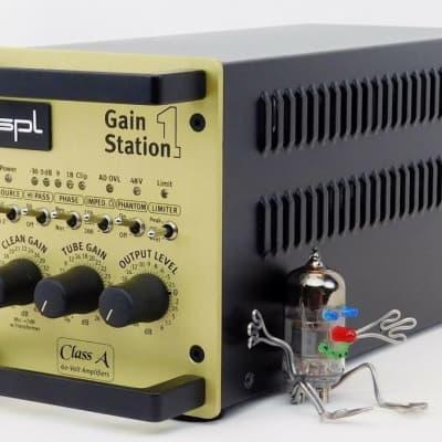 SPL Gainstation 1 AD Röhren Tube Preamp + Digital Option + Bag