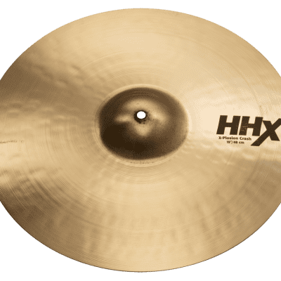 "Sabian 11987XB 19"" HHX Brilliant X-Plosion Crash Cymbal"