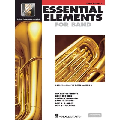 Hal Leonard Essential Elements for Band - Book 2 with EEi: Tuba in C (B.C.)
