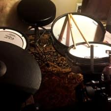 Roland TD-3 V-Drums Set  w/ Upgrades: Mesh Snare, Toms, Monitor, more...