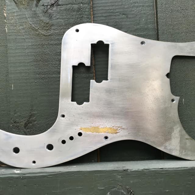 Fender Precision Bass Pick Guard Steel image