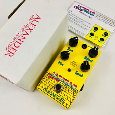 *Limited Edition* Alexander Pedals Radical Reverse Delay image