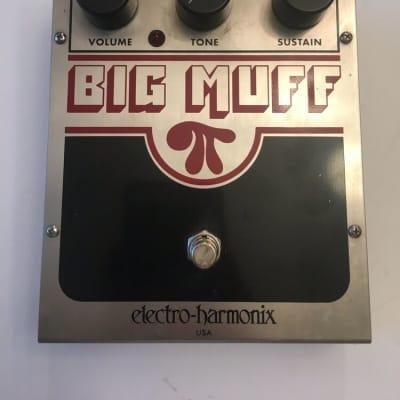 Electro Harmonix Big Muff Pi NYC Distortion Sustainer Fuzz Guitar Effect Pedal