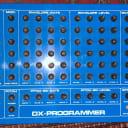 Jellinghaus DX Programmer for Yamaha DX-7 1984 blue