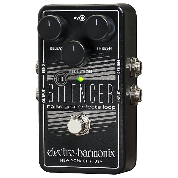 electro harmonix silencer noise gate guitar effects looper reverb. Black Bedroom Furniture Sets. Home Design Ideas