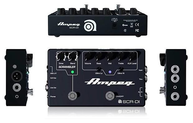 Ampeg SCR-DI | T  J  Ault