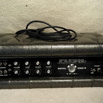 Plush Royal Bass 1060-S Tube Head 1971 Charcoal Sparkle for sale