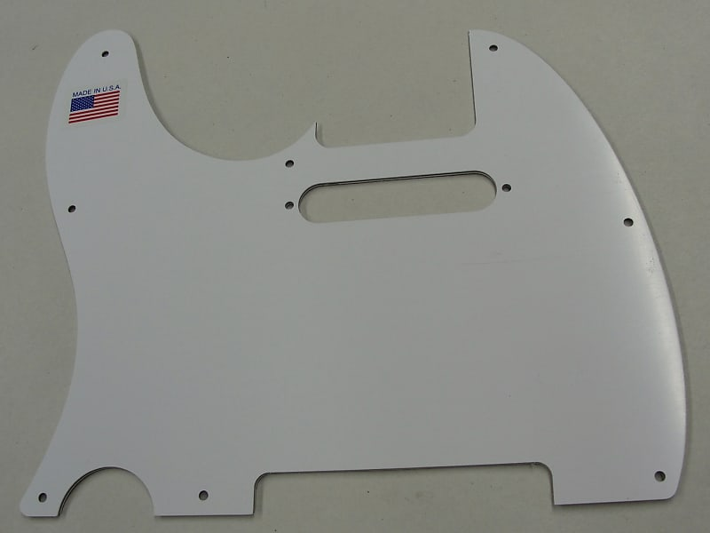 D/'ANDREA PRO TELECASTER PICKGUARD 8 HOLE BLUE SPARKLE MADE IN THE USA