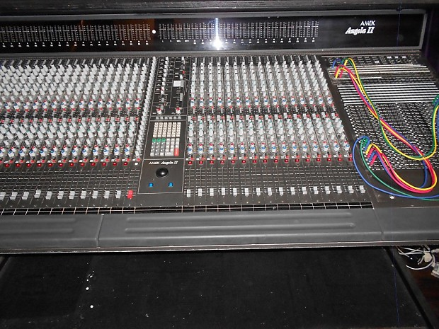 amek angela ii 2 recording console mixer with complete reverb. Black Bedroom Furniture Sets. Home Design Ideas