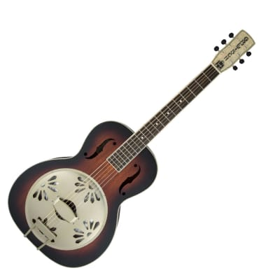 Gretsch G9240 Alligator Round-Neck, Biscuit Cone Resonator Guitar, 2-Color SB - Used for sale