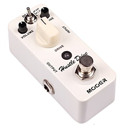 Mooer Hustle Drive Distortion Micro Guitar Effects Pedal 2012