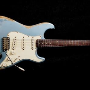 RebelRelic '62 S-Series Ice Metallic Blue Relic Stratocaster Fender Custom Shop (Serial: 62129) for sale